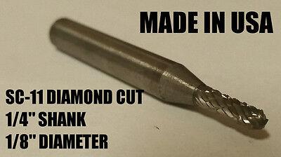 Sc11d Cylindrical Tungsten Carbide Burr Bur Cutting Tool Die Grinder Bit 14