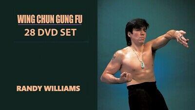 28 DVD SET Wing Chun Gung Fu Complete Training Program - Master Randy Williams