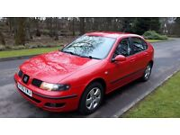 Seat Leon 1.6. Low Mileage. Long MOT. Stunning. VW Build Quality. Just Like a Golf FR Focus Astra