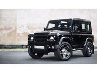 Land Rover Defender 20inch Alloy Wheels Black Kahn Mondial Set of 5