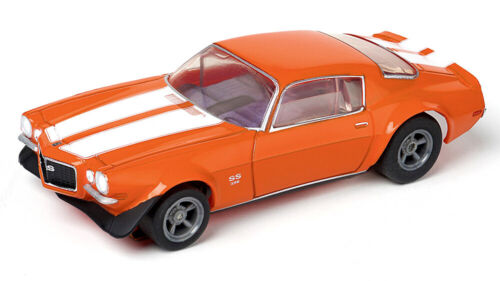 NEW RELEASE! Tomy AFX Clear Mega G+ Orange Chevy Camaro SS396 HO Slot Car #22027