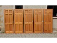 Hard wood door 6 panels **REDUCED**