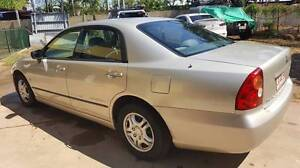 2004 Mitsubishi Magna Sedan Wanguri Darwin City Preview