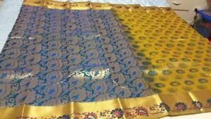 Kanchipuram Soft Silk Saree #KAN 018 / Sari / Salwar / Bollywood Dress