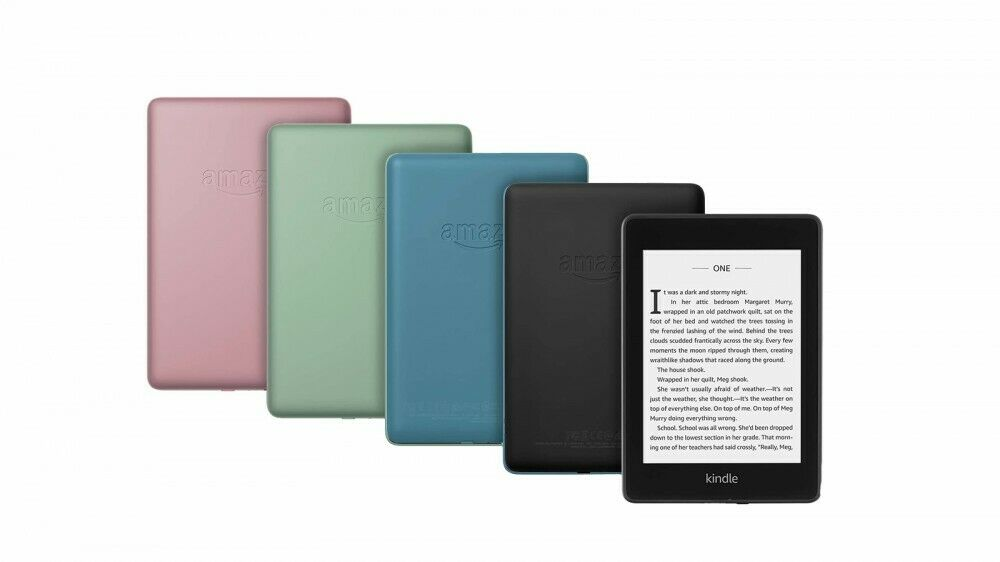 "KINDLE PAPERWHITE WATERPROOF WIFI 6"" 8GB/32GB Black/Blue/Sag"