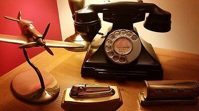 Bakelite Telephone - Spitfire - Perpetual calender - ronson lighter