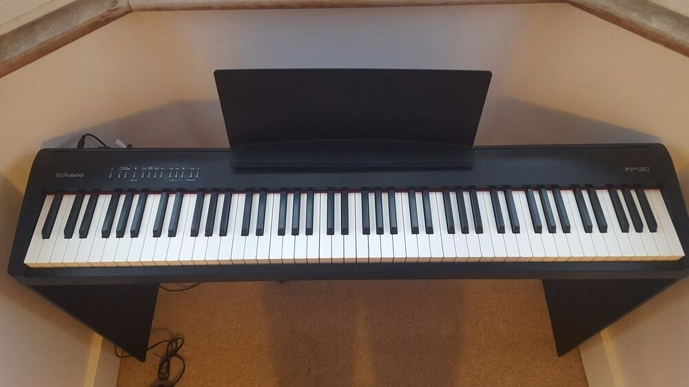 Digital Piano Roland Fp 30 Stand X2 Stool Pedal