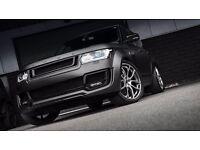 Range Rover Vogue Sport 22 inch Alloy Wheels Kahn 600 LE Black Diamond