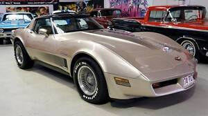 1982 Chevrolet Corvette Coupe Carrara Gold Coast City Preview