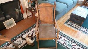 Antique Deck Chair