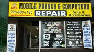 King Mobile: Cell Phone Repair | Unlocking | Computer Service Cambridge Kitchener Area image 1