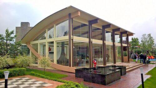 TIMBER FRAME LOUNGE KIT ENGINEERED GLT WOOD PREFAB DIY BUILDING CABIN 1000 sq.ft