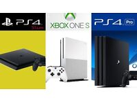 WANTED # CASH PAID TODAY # COLLECT WITHIN 1 HR # PS4 SLIM PRO # XBOX ONE S # UNWANTED ELECTRONICS #