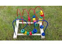 IKEA bead roller coaster, excellent condition