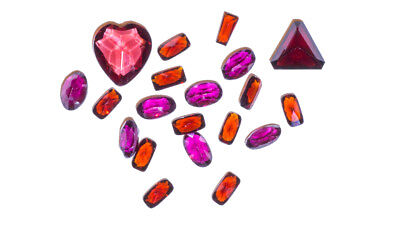 Garnets Mixed Shapes Facetted - 2.0mm to 8.0mm - Approx 20 pcs