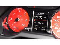 Kahn Audi Q5 Instrument Dial Rev Counter Panel 6K Red Diesel