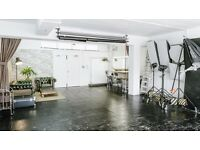 Photo / Photography / Film Studio Hire near Brick Lane. 900sq ft. and fully equipped