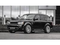 22 inch Alloy Wheels & Tyres Kahn RS Range Rover Vogue L405 Sport L494 set of 4