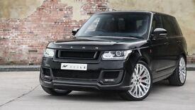"Range Rover Sport L494 Vogue L405 set of 4 23"" inch Alloy Wheels by Kahn RS2"