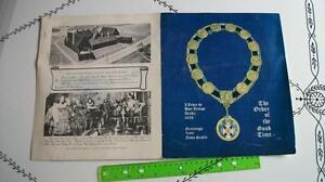 certificat Ordre du Bon-Temps Nova Scotia 1606 1973