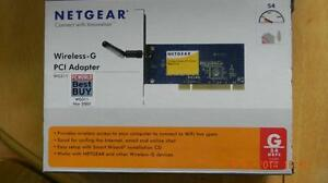 NetGear Wireless G PCI Adapter Edmonton Edmonton Area image 1