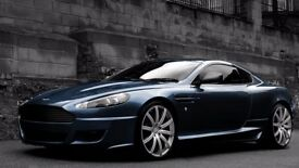 "Aston Martin Vantage AMV8 DB9 DBS Volante 09-Later Alloy Wheels 20"" Kahn RSV"