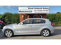 BMW 1 SERIES 120D SE (silver) 2009