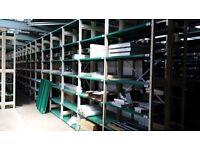ESS SMP Cream/Green - Fully Adjustable Boltless Shelving – Garage / Workshop / Office / Warehouse
