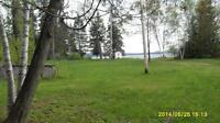 Lac des Plages terrain sur bord de lac, 25 min de Tremblant