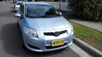 2008 Toyota Corolla Low Kms Good Condition Just Serviced