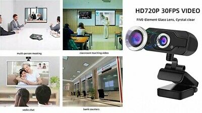 Homemax Webcam HD 720p Ideal for Streaming and Video Meeting Japan with Tracking