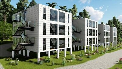 40ft X 12 Luxury 6 Unit Shipping Container Home 2bd2bth 640sqft6fin Avail