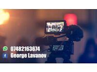 Videographer Weeding Film Celebration Filming Services