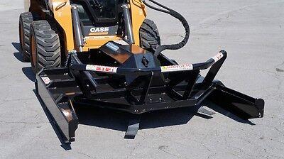 Blue Diamond Brush Cutter Skid Steer Attachment Ex Open Front High Flow 72