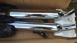Triumph exhaust mufflers TWO SETS aftermarket Thruxton scrambler Blacktown Blacktown Area Preview