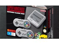 Snes Mini Brand New and Sealed unwanted gift