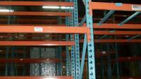 "Used Racking usage disponible 16' x 42"" - Beams 8' - Rayonnage"