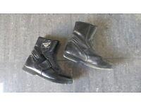 Prexport Ladies Motorcycle Boots, size 38