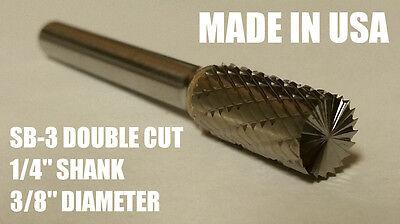 Sb3d Cylindrical Cut Tungsten Carbide Burr Bur Cutting Tool Die Grinder Bit 14