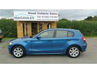 BMW 1 SERIES 116I SE (blue) 2004