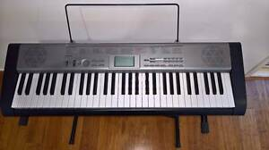 Casio LK-120 Key Lighting Keyboard and Keyboard Stand Hornsby Hornsby Area Preview