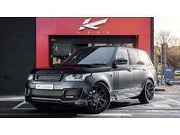 Range Rover Sport Vogue Alloy Wheels Kahn 600 LE 23 inch set of 4 Black USED