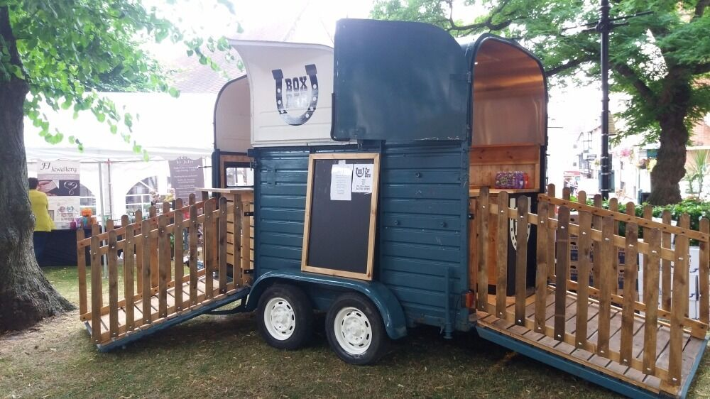 Rice vintage horsebox mobile bar trailer in shrewsbury - Mobile bar vintage ...