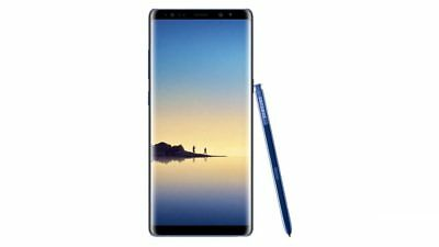 Samsung Galaxy Note8 SM-N950U1- 64GB - Blue (Factory UNlocked) 9/10 Unlocked