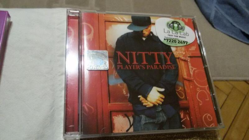 Płyta CD    Nitty   Player's  Paradise           Jak nowa !!