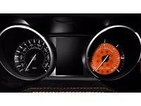 Range Rover Evoque Diesel Dials MPH 2011 - 2015 Orange 6K Kahn