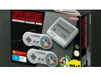 Snes mini. 100% guaraunteed brand new. With receipt