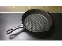 Le creuset cast iron grillit
