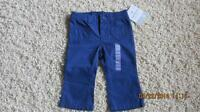 Carters girls cotton pants, 9 months, new with tags - $5