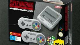 Snes mini classic . Amazon unopened, brand new with receipet.